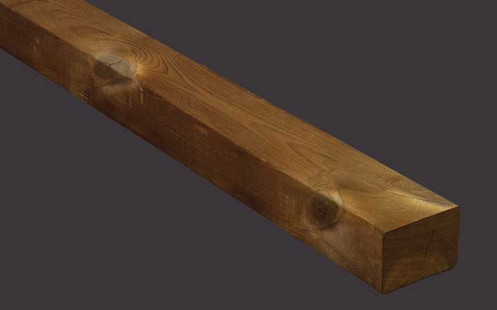 Holzterrassen Unterkonstruktion Kebony Character