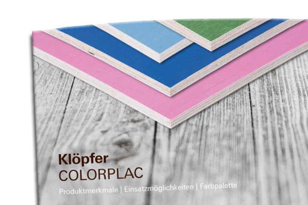 Broschüre COLORPLAC - Multiplexplatte beschichtet