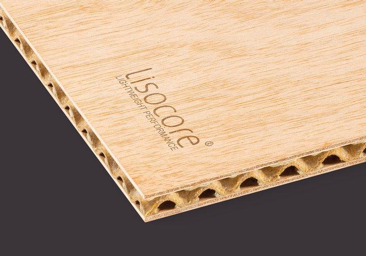 Leichtbauplatte Lisocore Furniersperrholz