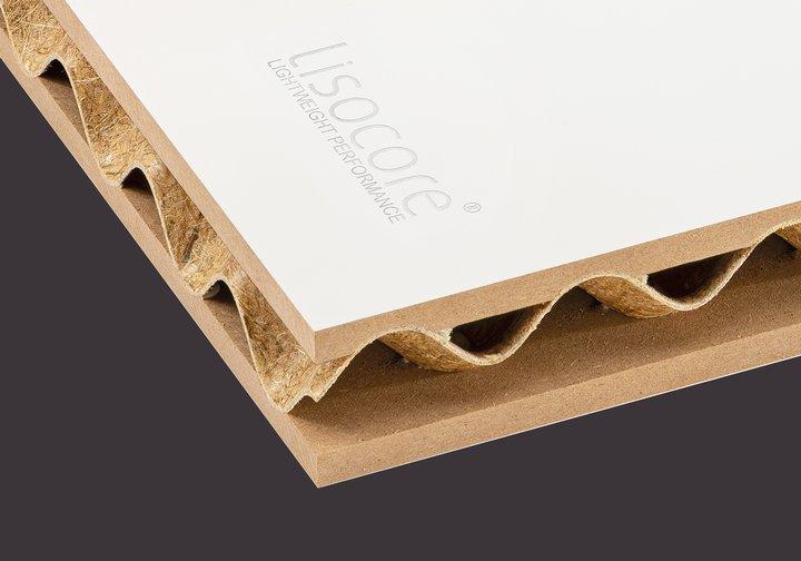 Leichtbauplatte Lisocore MDF mit Grundierfolie