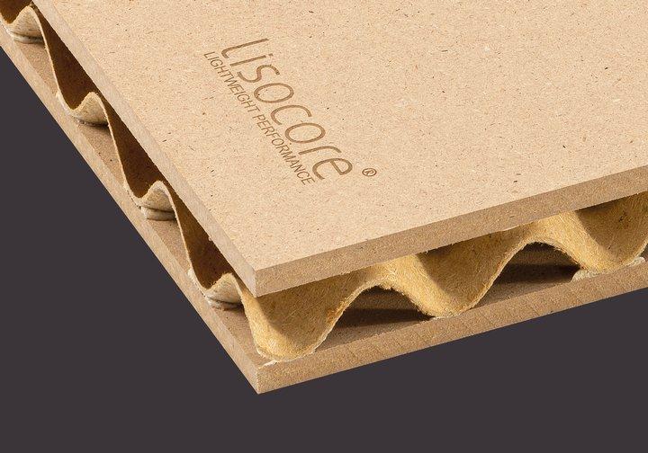 Leichtbauplatte Lisocore MDF